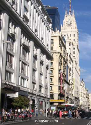 Gran V�a. Edificio Radio Madrid